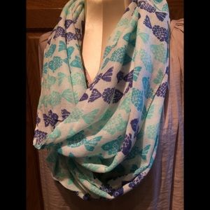 Accessories - NWT Fish 🐟 Infinity Scarf
